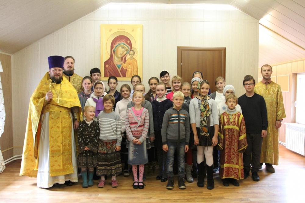 Открытие новой Воскресной школы